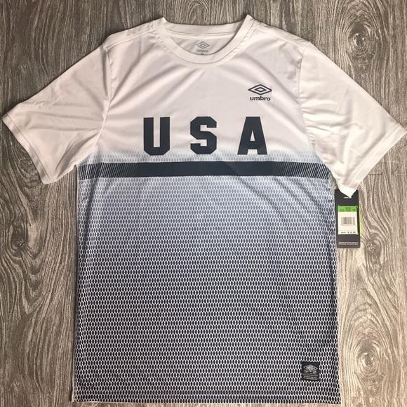 Umbro Other - (NWT) Men's M UMBRO White USA Soccer Kit/Top